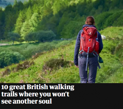 Mid Wilts Way – starting in Mere – features in The Guardian