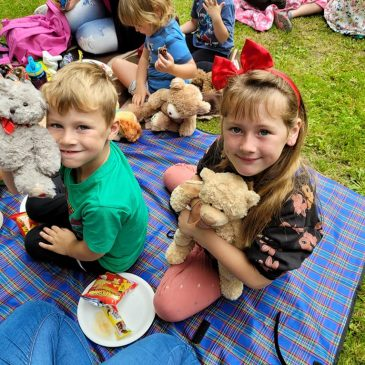 Mere Footpath Group hosts first Teddy Bear's Picnic Walk